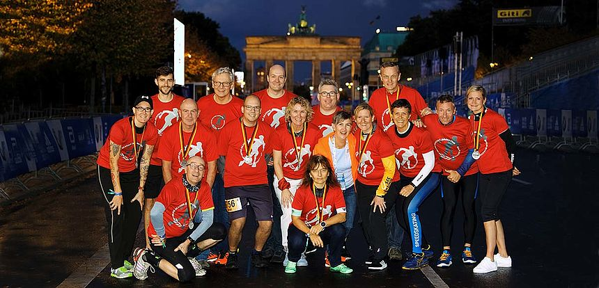 They move the Inlineskating Marathon - the Jubilee members of the 2019  BMW BERLIN-MARATHON